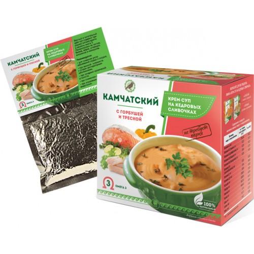 Крем-суп Камчатский с горбушей и треской