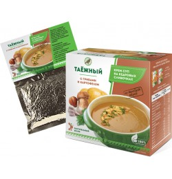 Крем-суп «Таежный» с грибами и картофелем