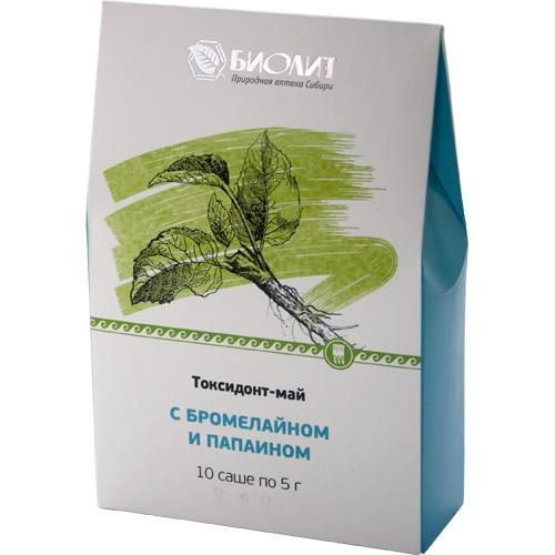 Токсидонт-май с бромелайном и папаином  argo-zakaz.ru
