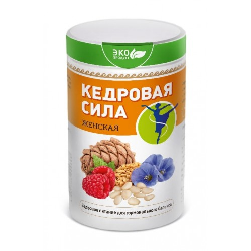 Продукт белково-витаминный Кедровая сила - Женская  argo-zakaz.ru