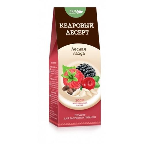 Кедровый десерт Лесная ягода  argo-zakaz.ru