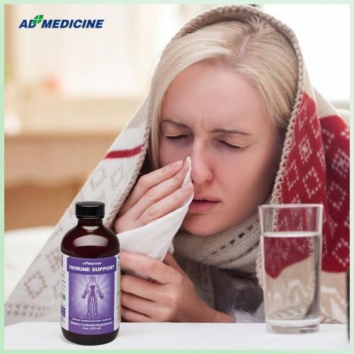 Польза иммуниитету при простудных заболеваниях с натуральным комплексом витаминов из США